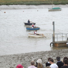 Dinghy Rowing Race - 2010 | Photo - Mike Downes