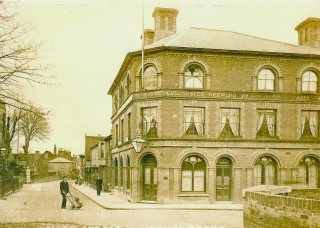 The Grosvenor Hotel built shortly after the railway came to Wivenhoe | John Stewart - Wivenhoe Memories Collection