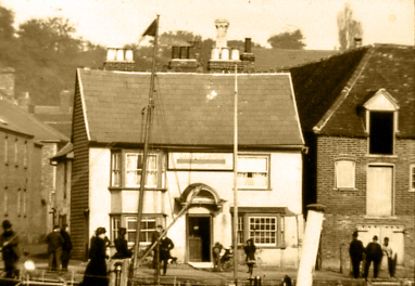 The Ship at Launch Wivenhoe Quay | Wivenhoe Memories Collection
