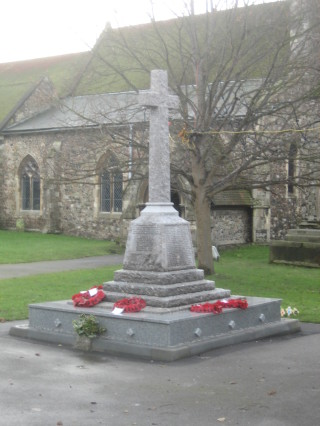 The War Memorial which was refurbished in 2005