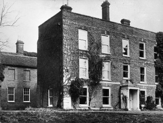 A picture of Wivenhoe Hall before it burnt down in the 1920s