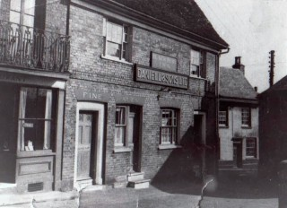 The Black Buoy Pub, Bethany Street, Wivenhoe circa 1950   John Stewart - Wivenhoe Memories