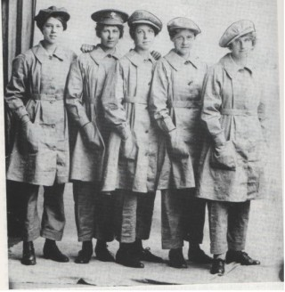 Munitions Girls from Wivenhoe | Charles Scofield