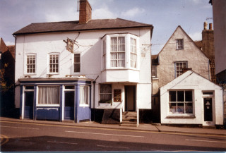 Greyhound Wivenhoe High Street 1980s | Photo Mike Downes