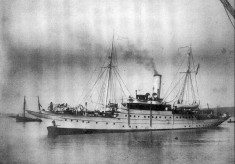 About the steam yacht Venetia