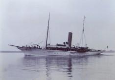 The steam yacht Vanessa