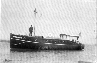 The Margaret Mary was a typical example of the sort of custom built motor cruisers which the firm built after the First World War. | Nottage Maritime Institute 02048d