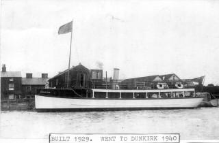 The Gondolier Queen was a 37grt motor passenger vessel.  56'6