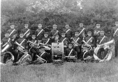 Wivenhoe Welslyan Brass Band 1911