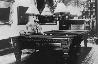 Wivenhoe Hall billiards room, ladies could play too.   Nottage Maritime Institute 04329.51g