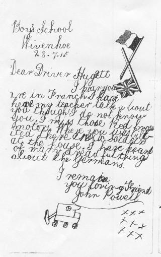 Red Cross Driver Hugget | John Stewart N.M.I 04536b