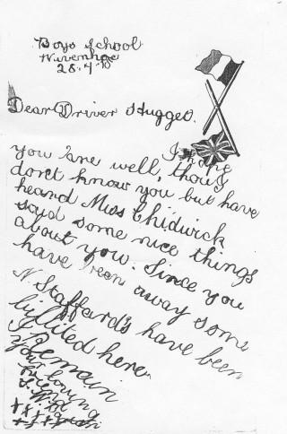 Red Cross Driver Hugget | John Stewart N.M.I 04536c