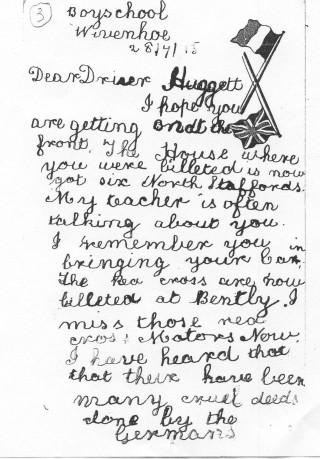 Red Cross Driver Hugget | John Stewart N.M.I 04536g