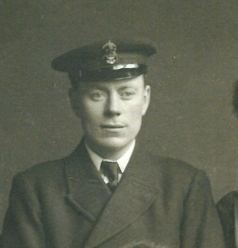 Harvey John Wix when serving in the Royal Navy as a CPO Chef.  | Nottage Maritime Institute 04548.3
