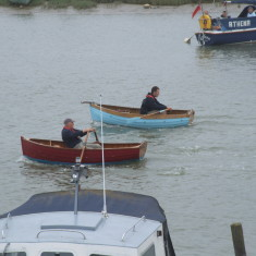 Rowing Race - Nottage Dingies - 2011 | Photo: Mike Downes