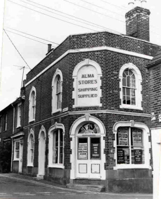 Originally the Live & Let Live Beerhouse, which became the Alma Stores and now a Guesthouse  | John Stewart - Wivenhoe Memories Collection