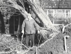 Arthur Worthington who in 1959 sold the land to Wivenhoe Scouts and Guides where their Hall stands