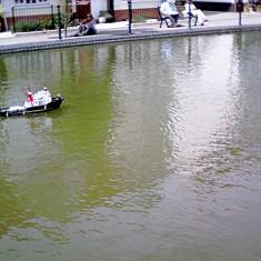 In 2004 there was also a mini-regatta in the Dry Dock. | John Collins