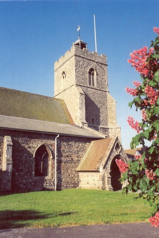 The Parish Church of Wivenhoe - St Mary the Virgin | Photo by the late Sue Murray ARPS