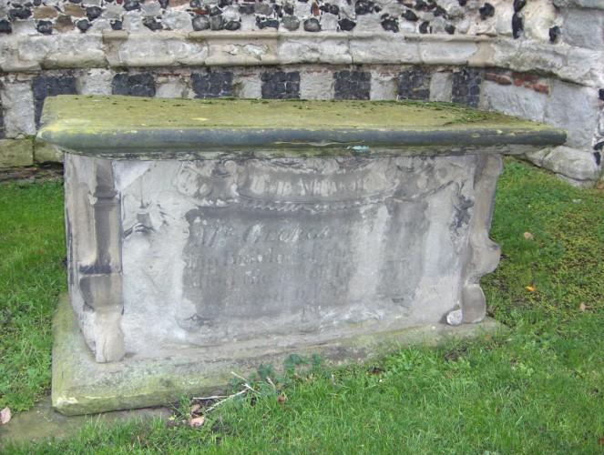 George Wyatt born about 1712, a shipbuilder in 1756, died 10/2/1776.   John Collins