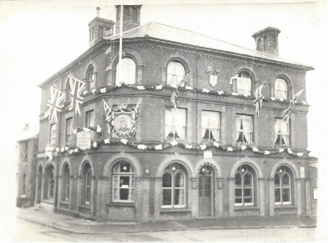 The Grosvenor Hotel celebrating the Coronation of Queen Elizabeth II in 1953 | Photo: Helen Douzier