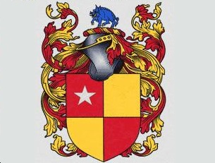 The De Vere family coat of arms