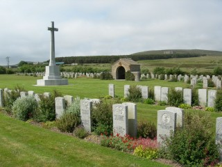 Lyness Royal Naval Cemetery at Scapa Flow in Orkney | Photo: War Graves Commission