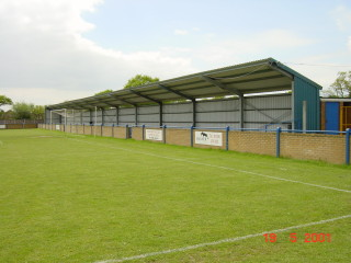 Broad Lane Sports Ground - Stands at each end of he Ground