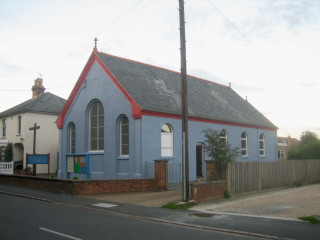 The Methodist Church after redecoration after 2006 | Photo: Peter Hill
