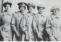 Women Shipyard Workers in 1914 -18