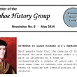 Newsletters of the Wivenhoe History Group