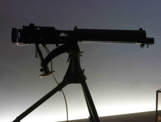 Example of a WW1 Machine Gun (photo taken at the Imperial War Museum) | Photo by Peter Hill