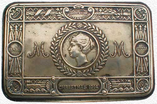 Example of the Christmas Gift from Princess Mary - Christmas 1914