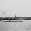 The steam yacht Cysne II