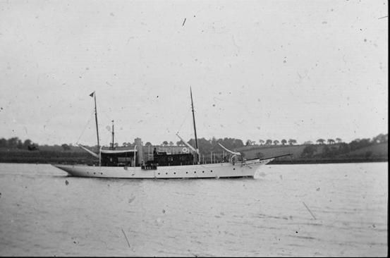 The steam yacht Cysne II
