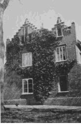 The remaining part of Wivenhoe Hall which finally burnt down in 1922