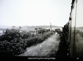 Wivenhoe Railway - The iron bridge