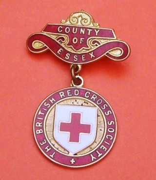 Badge issued to all serving Red Cross Society members