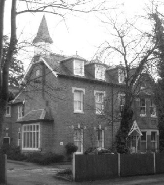 Military Auxiliary Hospital 4 Cambridge Road Colchester