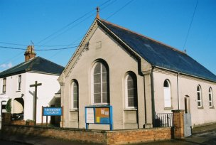 The Methodist Church in The Avenue (as it looked in 2006) | Photo: Peter Hill