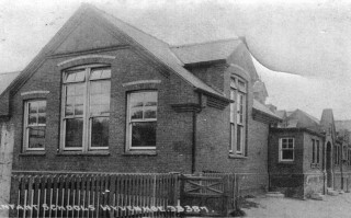 The former Infants and Girls School at Phillip Road