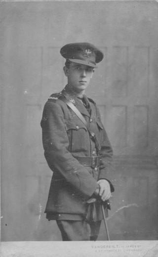 Temp. Lt. Frederick J. Salisbury, Royal Engineers