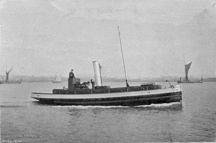 The steam police launch Edward VII | John Collins (Nottage Maritime Institute) 01064..49