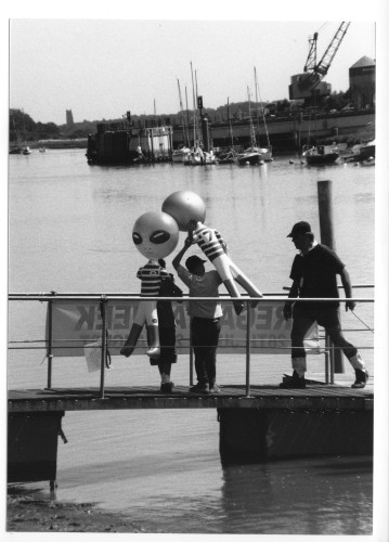 People even come from other planets to see the Wivenhoe Regattas. | Jan Ward (via Nottage Maritime Institute)
