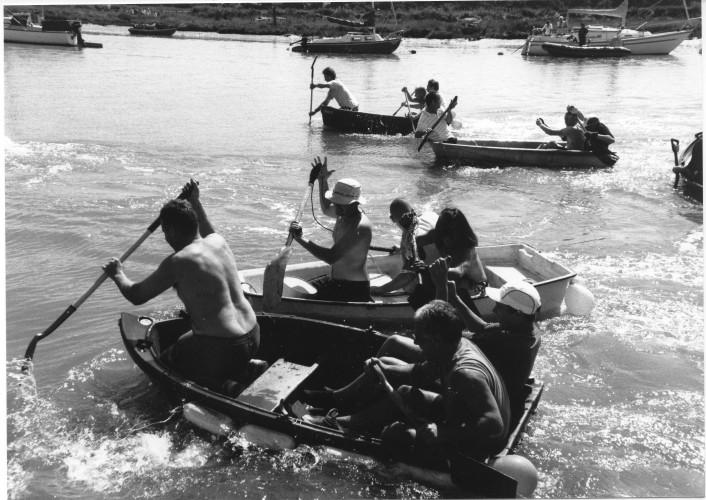 The Shovel Race.   | Jan Ward (via Nottage Maritime Institute)