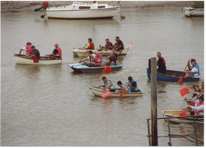 The Shovel Race. | Jan Ward (Nottage Maritime Institute)