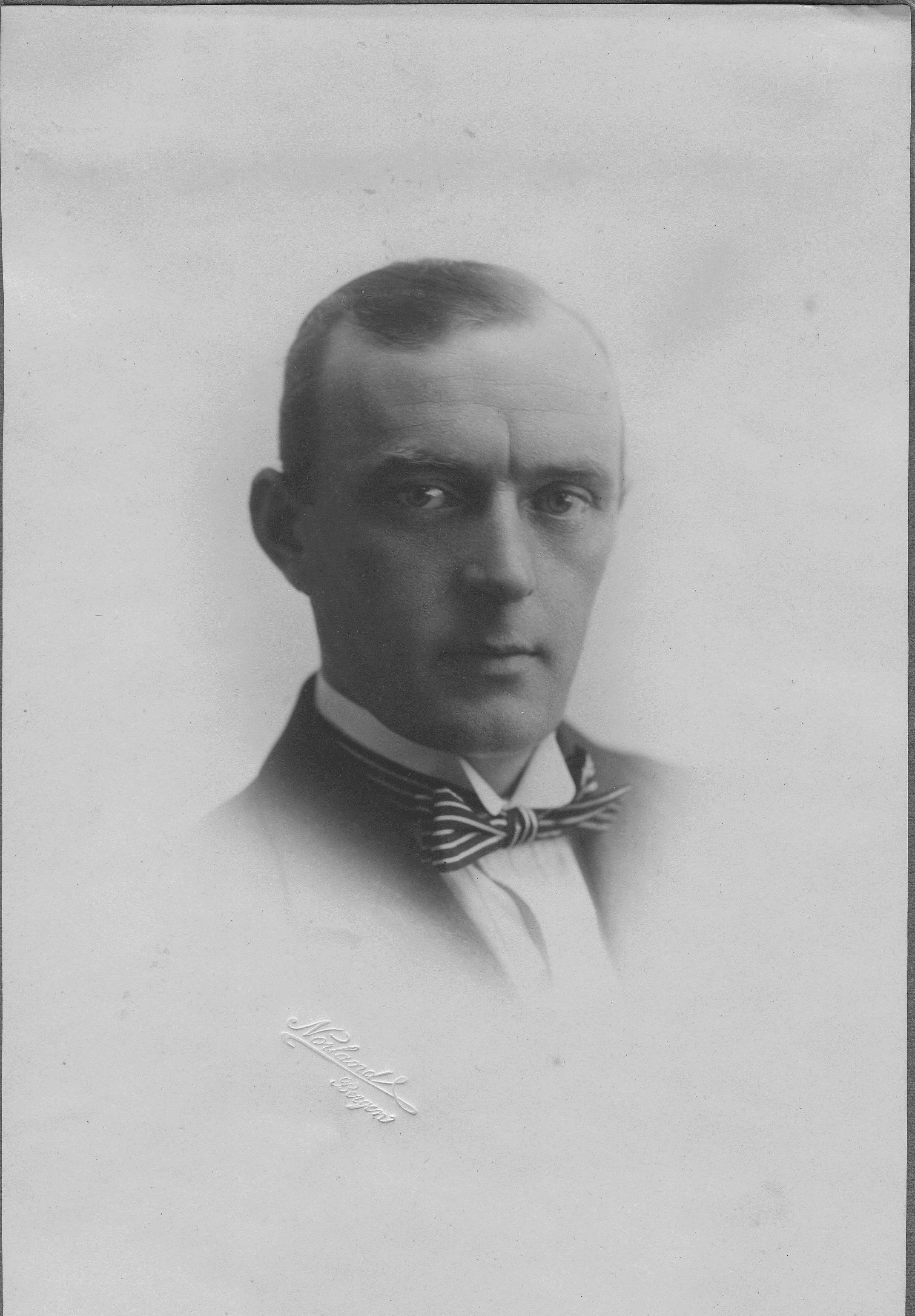 Otto Magnus Andersen as a young man.