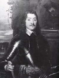 Sir Charles Lucas, Leader of the Royalist Forces at the Siege of Colchester, 19th century portrait after William Dobson (1611–1646) | Colchester Castle Museum