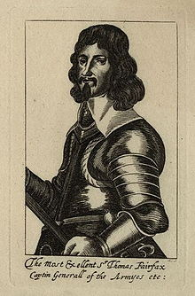 Sir Thomas Fairfax (etching, 1640s)   | National Portrait Gallery, London