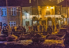 Carol Singing on The Quay - 2014